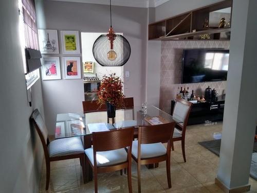 Belíssimo Apartamento Com 94m² A.u., Todo Planejado, Decorado E Mobiliado - Ap0227