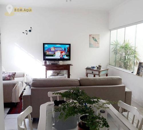 Imagem 1 de 9 de Casa Com 3 Dormitórios À Venda, 150 M² Por R$ 390.000,00 - Jardim Paulista - Itu/sp - Ca0930