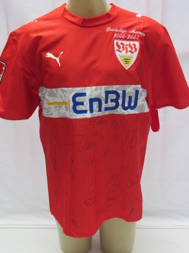 Camisa De Futebol Do Stuttgart Comemorativa #8 Bierofka - N