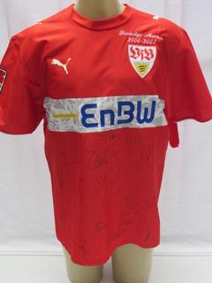 Camisa De Futebol Do Stuttgart Comemorativa #8 Bierofka N