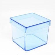 20 Caixinha Acrilico 5x5 Rosa Ou Azul(20 Unid) Lembrancinhas
