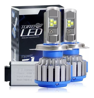 Focos Luces Turbo Led Original (15.000 Lumens) H4 H7 H8 H11