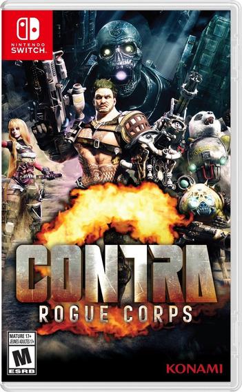 Contra Rogue Corps Switch Mídia Física Pronta Entrega