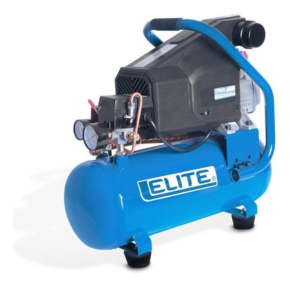 Compresor Elite De Aire Acople Directo De 1.5hp 10 Litros