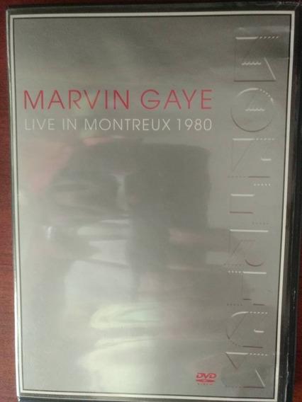 Dvd Marvin Gaye Live In Montreux 1980 Novo