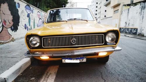 Ford Corcel 1 Luxo Amarelo Original Raridade