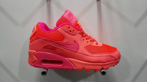 Nuevos Zapatos Nike Air Max 90 2018 Damas 36-40 Eur