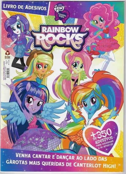 2015 Revista Com 352 Adesivos Rainbow Rocks Ano 2 Nº 2 Compl