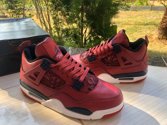 Tênis Nike Air Jordan 4 Gyn Red Pronta Entrega