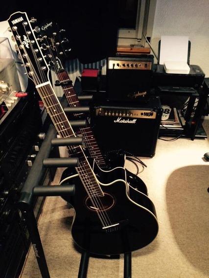 Yamaha Apx700ll-12 Electroacústica Con Estuche Rígido