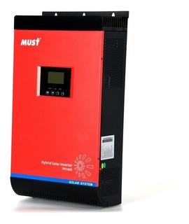 Must Solar Inversor Hibrido 5.000 W 60 Amp Mppt Kit Solar