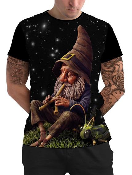 Camiseta Camisetas Camisa Duende Psicodélica