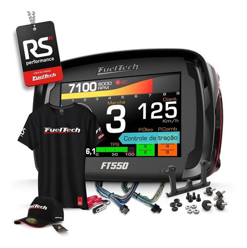 Imagem 1 de 8 de Fueltech Ft550 3 Metros + Brindes + 12x Pronta Entrega