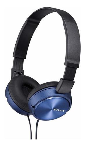 Auriculares Dinámicos De Tipo Cerrado Sony Mdr-zx310-l Azul.