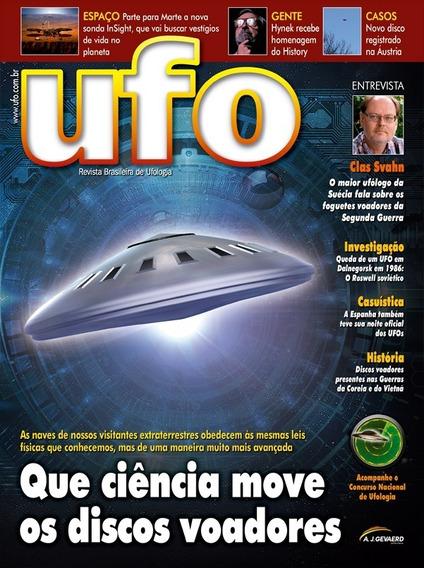 Que Ciência Move Os Discos Voadores - Revista Ufo 258