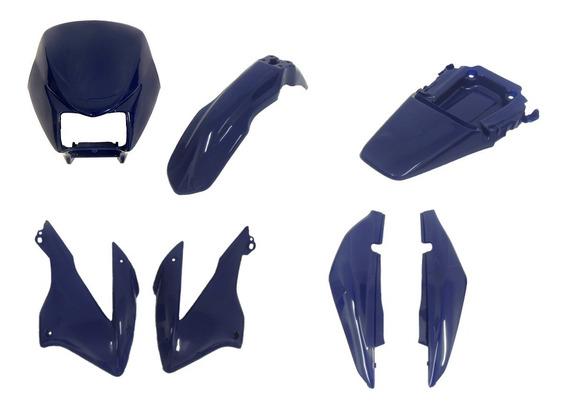 Carenagem Nxr Bros 125 Kit Completo Azul 2003, 2004