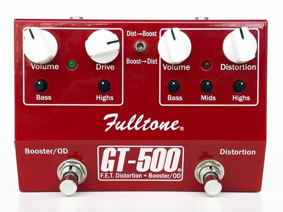 Fulltone Gt500 | Overdrive + Distortion | Trocas