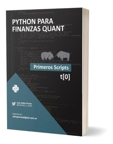 Libro Python Para Finanzas Quant - Primeros Scripts