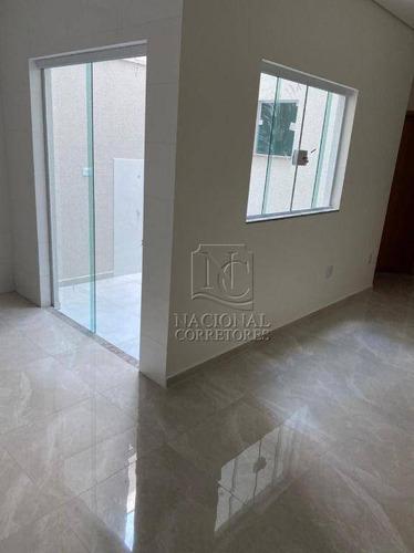 Cobertura À Venda, 80 M² Por R$ 370.000,00 - Bangu - Santo André/sp - Co4361