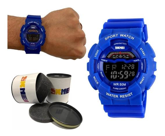 Relógio Masculino Sport Shock A Prova Dágua Barato + Nf 91