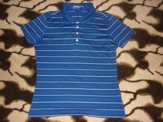 E Chomba Golf Dama Nike Dri Fit Talle S Azul Art 71165