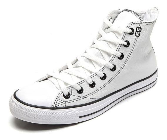 Tênis Converse All Star European Hi Branco Original