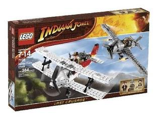 Lego Indiana Jones Fighter Plane Attack 7198