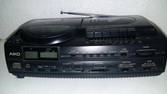 Rádio Am E Fm, Toca Fitas E Cd Da Aiko Não Funciona Leiam