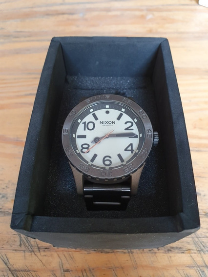 Relógio Nixon 46 - Bronze/gunmetal