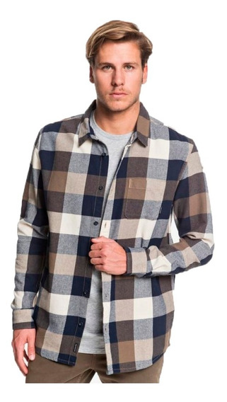 Quiksilver Camisa M/l Lifestyle Hombre Motherfly Flannel