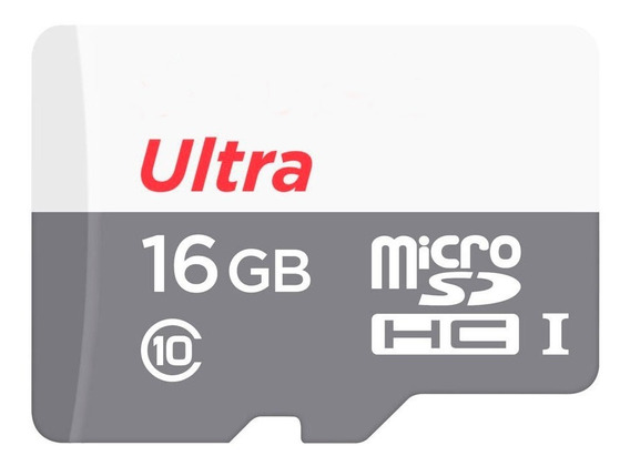 Cartão Micro Sd 16gb Sandisk Classe10 Ultra Speed 80mbs 533x