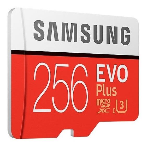 Micro Sd Samsung 256gb Evo Plus 100mb/s 4k Gopro Drone + Nf
