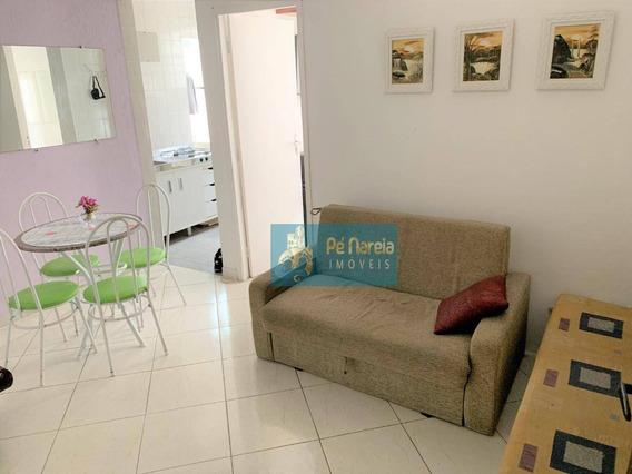 Kitnet Com 1 Dormitório À Venda, 49 M² Por R$ 140.000,00 - Canto Do Forte - Praia Grande/sp - Kn0024