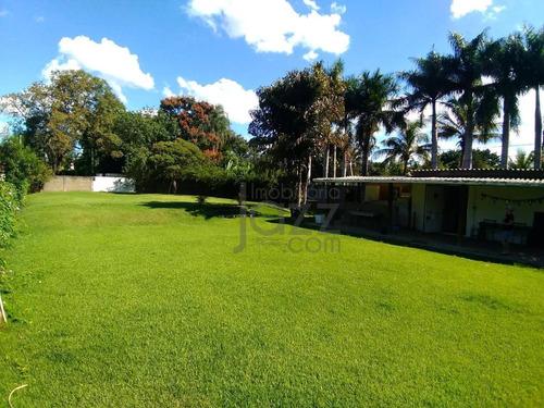 Chácara Com 2 Dormitórios À Venda, 1314 M² Por R$ 850.000,00 - Barão Geraldo - Campinas/sp - Ch0031