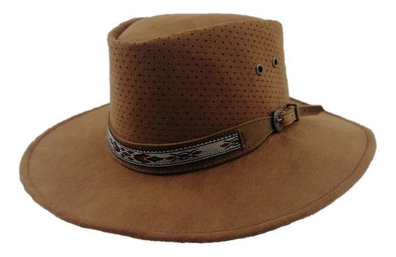 Sombrero Viaje Flexible Dobla Y Guarda Canyon Hats Tabaco