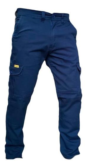 Pantalon Cargo Elastizado Pampero Slim Chupin Cuotas Pagos