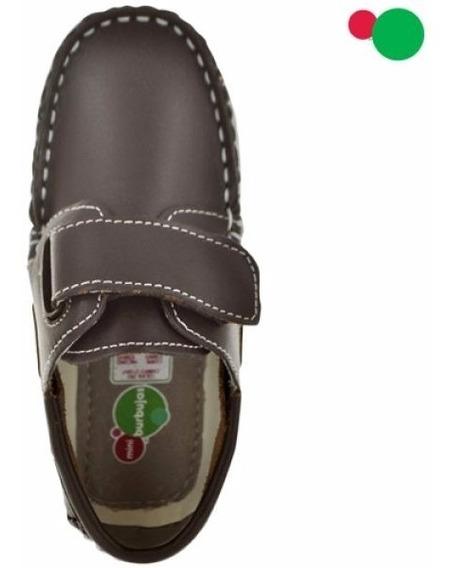 Zapatos Mocasines Niño #18 Al 21.5 Mini Burbujas Est. 73001
