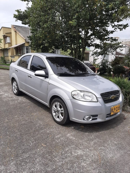Aveo Emotion 2012 Color Plata 113000 Km