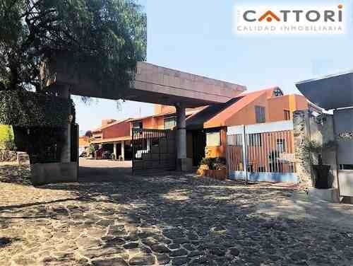 Venta Casa En Condominio En Valle Escondido Tepepan