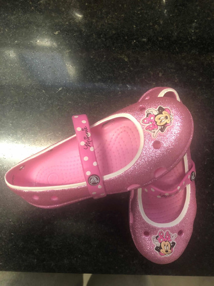 Crocs Minnie Glitter