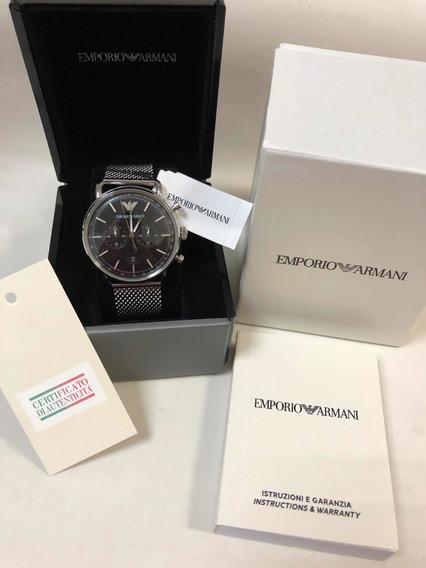 Relógio Emporio Armani Ar11104 C Caixa E Garantia Ea Novo