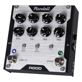 Pedal Pré Amplificador Randall Rgod Distortion