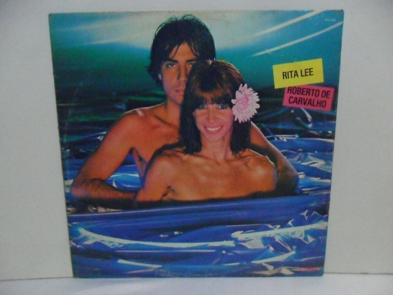Lp Disco Vinil - Rita Lee & Roberto De Carvalho - Flagra
