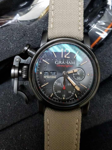 Relógio Graham Chronofighter Vintage Aircraft Ltd Original