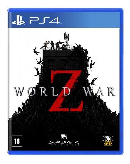Jogo Novo Mídia Física World War Z Original Para Ps4