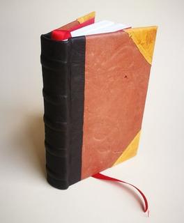 Cuaderno Artesanal De Tapas Duras En Auténtico Cuero