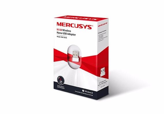 Adaptador Nano Usb Wireless N 150 Mbps Mw150us Mercusys