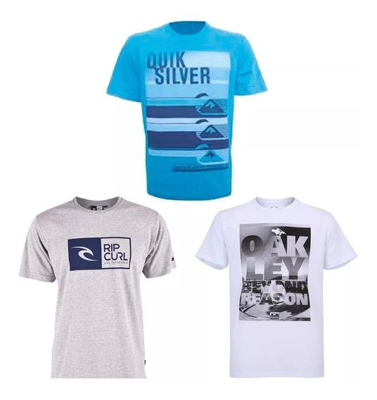Kit 10 Camisa Camiseta Masculina Marca Estampada Top Revenda