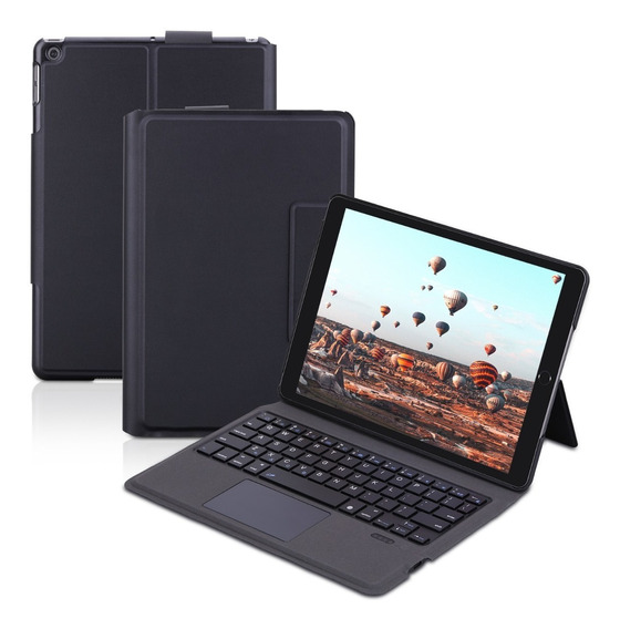 Funda Con Teclado Inalámbrico Para iPad 2019 10.2 In