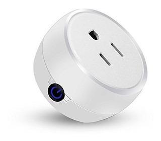 Beardot Mini Wifi Enchufe Inteligente Funciona Con Alexa Y G